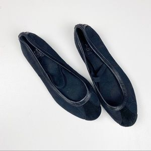Coach Mary Jane Judey Ballet Flats Black Size 6